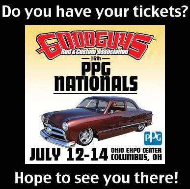Goodguys PPG Nationals in Columbus, Ohio