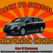 Back To School Transportation Checklist