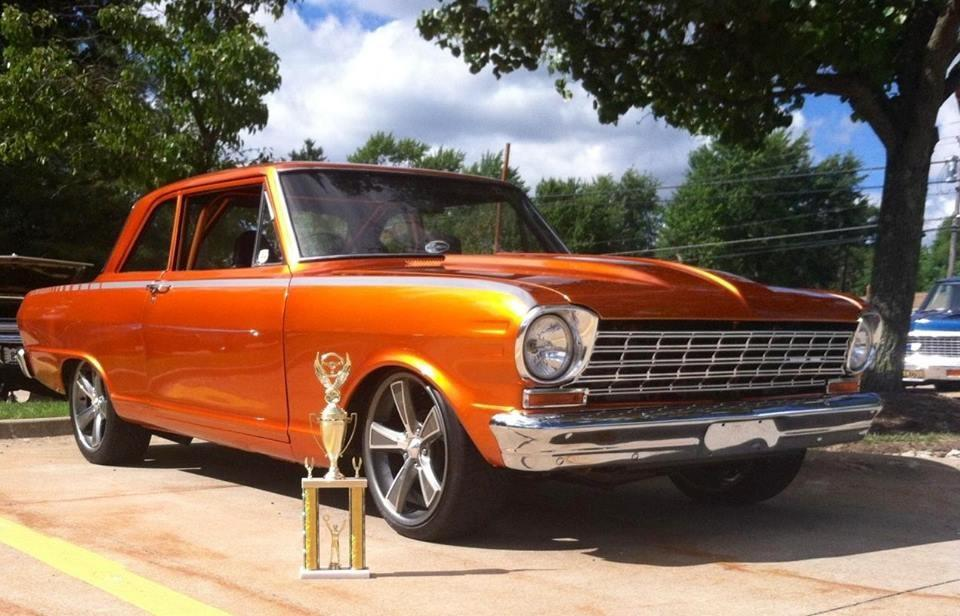 Ultragloss Chevy Nova Wins 1st Place for Best Paint