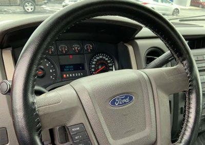 leather wrap for steering wheel