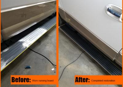 paint repair running board